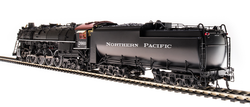 Broadway Limited Imports HO 4922 Northern Pacific A-3 4-8-4 with Paragon3 Sound/DC/DCC & Smoke - NP #2663