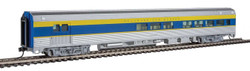 Walthers Mainline HO 910-30063 85' Budd Baggage-Lounge Ready to Run Delaware & Hudson