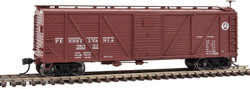 Walthers Mainline HO 910-40570 Single-Sheathed Composite ARA Boxcar with Murphy Ends Pennsylvania PRR #38880