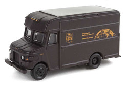 Walthers SceneMaster HO 949-14000 UPS Package Car - Assembled - United Parcel Service Bow Tie Shield Logo