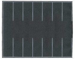 Walthers SceneMaster HO 949-1260 Flexible Self-Adhesive Paved Roadway - Parking Lot