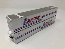 Rapido Trains Inc HO 402020 53' High Cube Containers - Armour Transportation Systems- 2 Pack