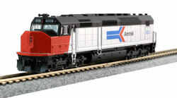 Kato N 176-9205 EMD SDP40F Type I DCC Ready Amtrak Phase I Paint #501