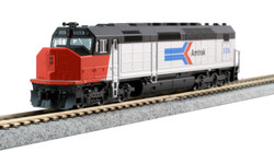 Kato N 176-9206-LS EMD SDP40F Type I DCC/ESU LokSound Amtrak Phase I Paint #508
