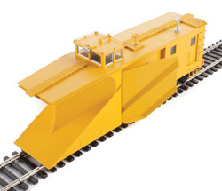 WalthersProto HO 920-110028 Russell Snowplow Yellow Unlettered