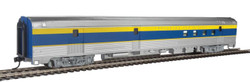 Walthers Mainline HO 910-30312 85' Budd Baggage-RPO Ready to Run Delaware & Hudson D&H