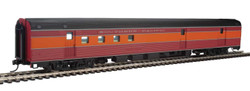 Walthers Mainline HO 910-30313 85' Budd Baggage-RPO Ready to Run Southern Pacific 'Daylight, red, orange, black' SP