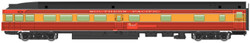 Walthers Mainline HO 910-30364 85' Budd Observation Ready to Run Southern Pacific 'Daylight, red, orange, black' SP