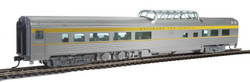 Walthers Mainline HO 910-30406 85' Budd Dome Coach Ready to Run Delaware & Hudson D&H