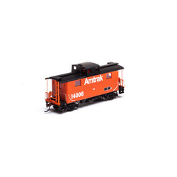 Athearn HO RND76817 Eastern Caboose Amtrak #14006