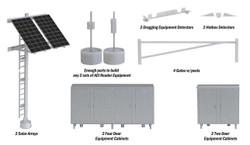 Walthers SceneMaster HO 949-4139 Modern Trackside Detail Set - Kit