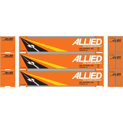 Athearn RTR HO 27715 48' Container Allied Van Lines - 3 Pack
