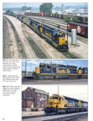 Morning Sun Books 1716 Santa Fe Power In Color Volume 4: Electro-Motive Six-Axle Hood Units