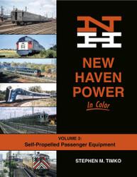 Morning Sun Books 1718 New Haven Power In Color Volume 3: Self-Propelled Passenger Equipment
