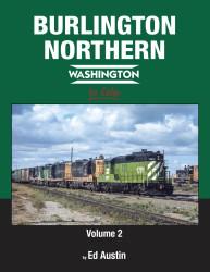 Morning Sun Books 1719 Burlington Northern Washington In Color Volume 2