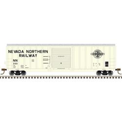 Atlas Master HO 20005646 50' Berwick Box Car Nevada Northern NN #233