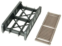 Walthers Cornerstone HO 933-4500 30ft Single-Track Through Girder Bridge - Kit