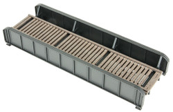Walthers Cornerstone HO 933-4501 50ft Single-Track Through Girder Bridge - Kit