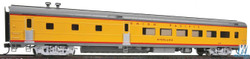 Walthers Proto HO 920-18603 85ft ACF 48 Seat Diner Car Union Pacific Heritage Series Overland UPP #302 - Lighted