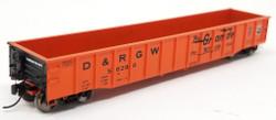 Trainworx N 25201-24 Thrall 52'6 Gondola Car Rio Grande 'The Action Road' DRGW #56333