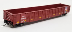 Trainworx N 25203-18 Thrall 52'6 Gondola Car Missouri Pacific with Conspicuity Stripes 'UP Shield' MP #640829
