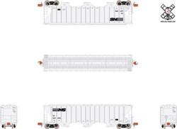 ScaleTrains Rivet Counter N SXT31834 Pullman-Standard PS-2CD 4785 Covered Hopper Norfolk Southern NS #641295