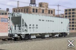 ScaleTrains Rivet Counter N SXT31840 Pullman-Standard PS-2CD 4785 Covered Hopper Penn Central PCB #889878