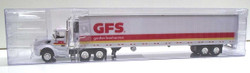 Trucks N Stuff HO TNS106 Peterbilt 579 Tractor with 53' Reefer Trailer GORDON FOOD SERVICE GFS