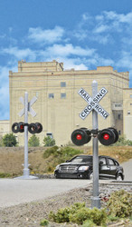 Walthers HO 949-4333 Crossing Flashers - Set of 2 Working Signals