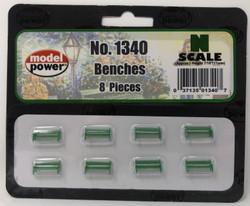 Model Power N 1340 Benches - 8 Pcs