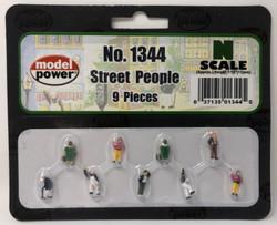 Model Power N 1344 Street People - 9 Pcs