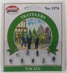 Model Power N 1374 Travelers - 9 Pcs