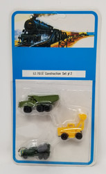 Bachmann N 52-7018 Construction Vehicles Set #2 - 3 Pcs