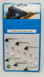 Bachmann N 52-7004 Crossing Signals & Gates - 12 Pcs