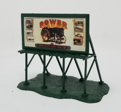 Athearn N 10405 John Deere 'John Deere Power' Billboard - Green Frame