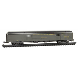 Micro Trains Line N 147 00 390 70' Heavyweight Baggage Car Denver & Rio Grande Western - D&RGW #742