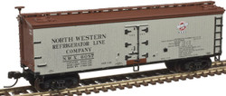 Atlas Master N 50003889 40' Wood Reefer North Western Refrigerator Line NWX #6087