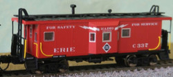 Bluford Shops N 41035 ICC Phase 1 Bay Window Caboose Erie #C346