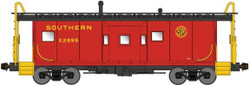 Bluford Shops N 41055 ICC Phase 1 Bay Window Caboose Southern #X3119