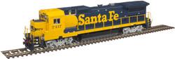 Atlas Master HO 10003067 Silver Series GE Dash 8-40B Diesel DCC Ready Santa Fe ATSF #7417