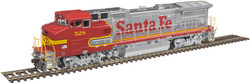 Atlas Master HO 10003075 Silver Series GE Dash 8-40BW Diesel DCC Ready Santa Fe ATSF #542
