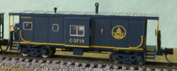 Bluford Shops N 44140 ICC Phase 4 Bay Window Caboose Baltimore & Ohio #C-3802