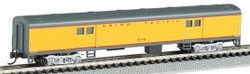 Bachmann Silver Series N 14454 72' Smooth Side Baggage Union Pacific #5714