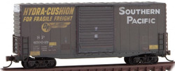 Micro Trains Line N 101 44 060 40' Hy Cube Box Car Weathered Southern Pacific #659049