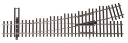 WalthersTrack HO 948-83014 Code 83 Nickel Silver DCC Friendly Number 4 Turnout - Right Hand