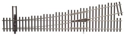 WalthersTrack HO 948-83015 Code 83 Nickel Silver DCC Friendly Number 5 Turnout - Left Hand
