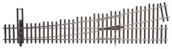 WalthersTrack HO 948-83016 Code 83 Nickel Silver DCC Friendly Number 5 Turnout - Right Hand