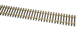 """WalthersTrack HO 948-10001 Code 100 Nickel Silver Flex Track with Wood Ties – 1 Box: 36"""" section – 5 pcs"""