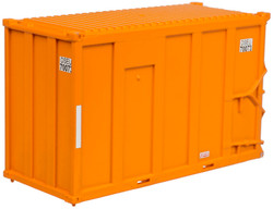 Atlas Trainman N 50003462 20' High-Cube MSW Container DSEU Set #8 - 4 Pack