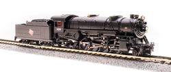 Broadway Limited Imports N 5957 USRA 2-8-2 Heavy Mikado Paragon 3  Sound/DC/DCC - Milwaukee Road - MILW #376